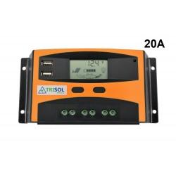 Regulador Solar Trisol 20A...