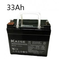 Bateria 33Ah 12V AGM Ciclo...